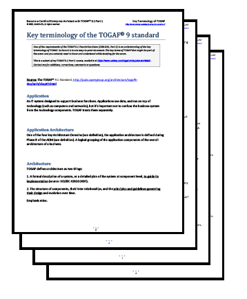 TOGAF-Key-Terminology